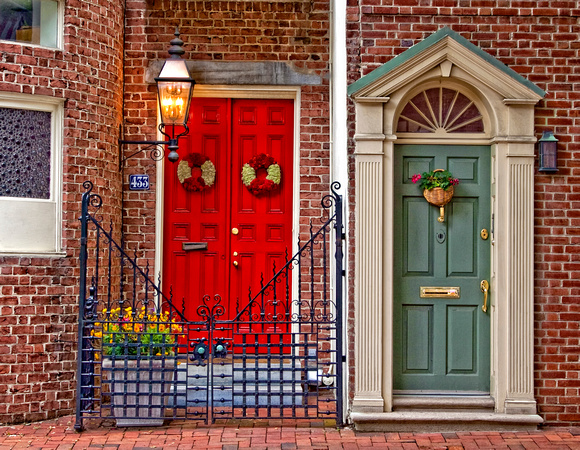 Red Door, Teale Door