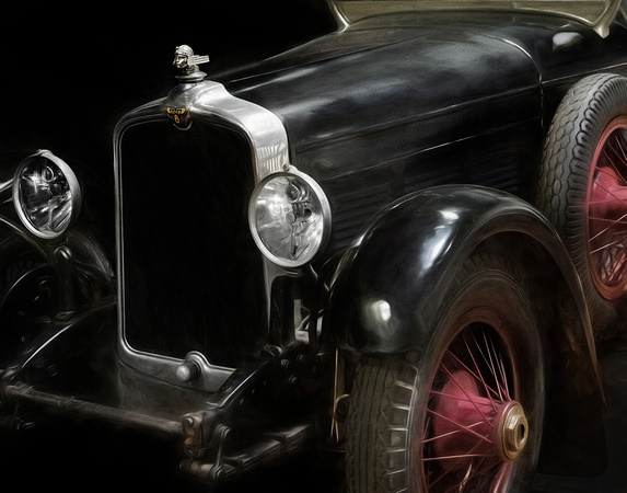 1927 Stutz Black Hawk