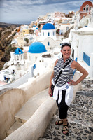 Beautiful Felicity in Beautiful Oia